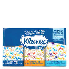 buy kleenex tissues ultrasoft pocket pack 9x6pk at