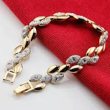 crystal chain link bracelet images Valen bela chain link bracelet women screw gold bracelet crystal jpg