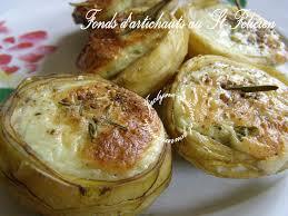 cuisiner les fonds d artichauts fonds d artichauts surgelés picard au félicien jaclyne