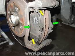 mini cooper brake pad replacement r50 r52 r53 2001 2006