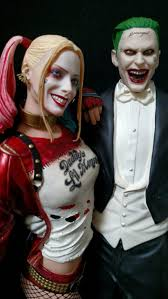 squad joker harley quinn statue for sale in santa clara