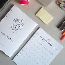 tagebuch selbst designen 25 einzigartige filofax einlagen ideen auf filofax