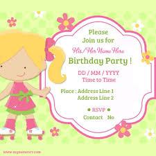 invitation birthday card wblqual com