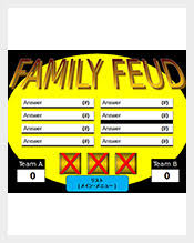 family feud game template powerpoint free casseh info gameshow