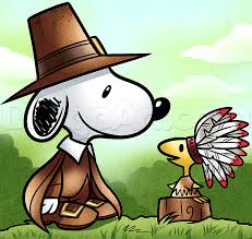 thanksgiving snoopy woodstock drawing lesson step step