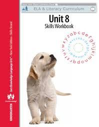 kindergarten skills unit 8 workbook engageny
