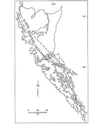 Blank Map Of Bc by Frontier Next Door Geology And Hydrocarbon Assessment Of