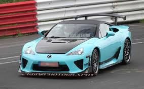 lexus supercar hybrid caught modified lexus lfa tester laps the u0027ring possible tokyo