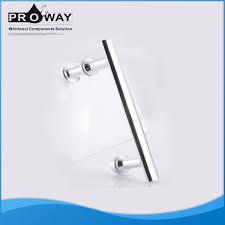 tempered glass door hardware bathroom accessories hardware shower cabinet pull handle tube