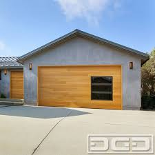 modern house garage utility and pedestrian gates in a modern horizontal slat design