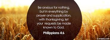 be anxious for nothing but in everything by cover