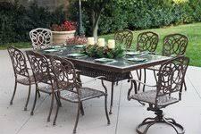 Granite Patio Tables Darlee Florence Patio Furniture Dining Set Granite Top Seats 8