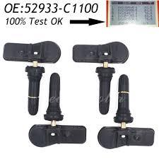 tpms hyundai tucson aliexpress com buy 4pcs original tire pressure monitoring sensor