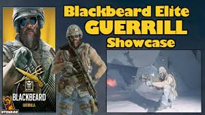 siege macdonald blackbeard elite guerrilla showcase rainbow six siege