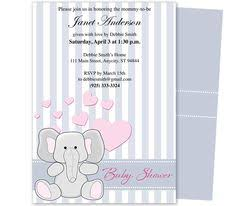 the fascinating free baby shower invitation templates download