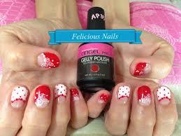 girly nail art felicious nails