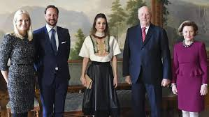 the royal family met with rania of at the