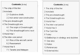 How To Do A Table Of Contents Help Wikipedia The Missing Manual Formatting And Illustrating