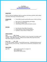 chef sample resume excellent culinary resume samples to help you approved how to excellent culinary resume samples to help you approved image name