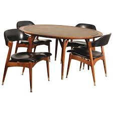 americana casual game table u0026 chairs by jack van der molen for