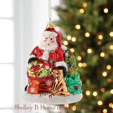 Santa Claus Christmas Ornaments by Raz Santa U0027s Workshop Christmas Collection