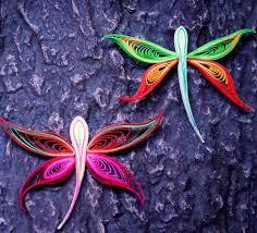 quilling designs dazzling dragonfly quilling designs allfreepapercrafts com