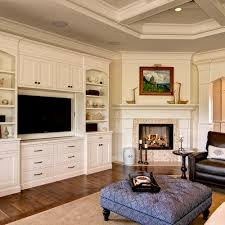 Corner Fireplace Home Design Ideas Pictures Remodel And Decor - Gorgeous family rooms