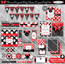 minnie mouse baby shower decorations minnie mouse baby shower decorations baby shower decorations