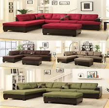 Free Sectional Sofa by Sectional Sofas Loveseats And Chaises Ebay