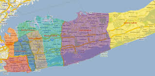 New York City Zip Codes Map by Suffolk County Asian American Advisory Board Suffolk County
