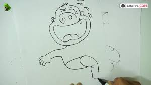 how to turn words cry into a cartoon let u0027s learn drawing art on