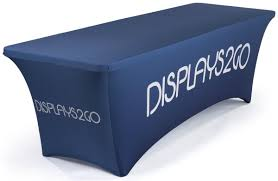 Trade Show Table Runner Trade Show Table Covers Plain U0026 Custom Printed Tablecloths