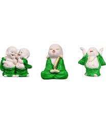 kavya home decor polyresin laughing buddha buy kavya home decor