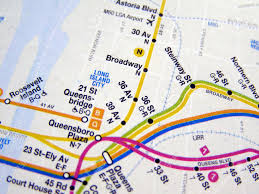 Metro Ny Map by Subway Map Of The New York Underground Metro Tube Network Stock