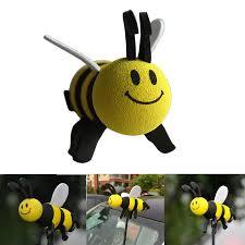 smiley honey bumble bee car antenna pen topper aerial