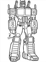 astounding transformer coloring pages print pic