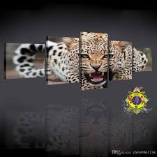 abstract leopards modern home wall decor canvas picture art hd