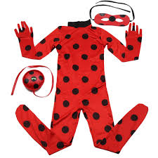 2nd skin halloween costumes aliexpress com buy ladybug costume miraculous kids