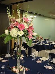 awesome tall glass vase flower arrangement soclall com