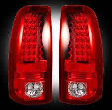 2007 chevy silverado tail lights chevy silverado gmc sierra 2500 3500 red led tail lights recon