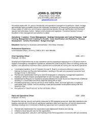 Us Army Resume Download Coo Chief Operating Officer In Colorado Springs Co Resume