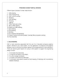 Sheet Metal Resume Examples by Sheet Metal Division Word