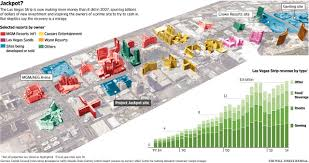 Las Vegas Hotel Strip Map by Investors Place New Bets On A Las Vegas Rebound Wsj
