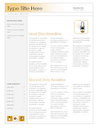 newsletter office templates