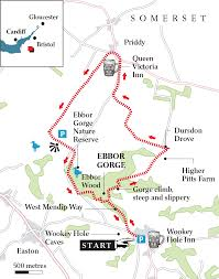Somerset England Map 20 Great Walks For The New Year Weekend The Times