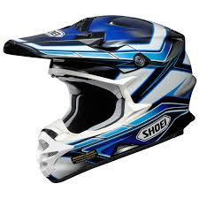 blue motocross gear shoei 2016 vfx w capacitor tc 2 blue helmet mxstore picks