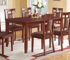 acme 71160 sonata cherry dining table