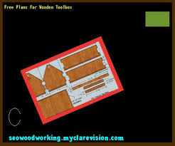 Free Wooden Tool Box Plans by Wooden Carpenters Toolbox Plans 122124 Woodworking Plans And