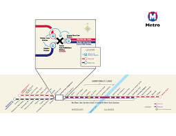 Stl Metro Map by Forest Park Debaliviere Metrolink Station Closed June 20 And June
