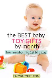 the best baby toy gifts the right toy for your baby month by month